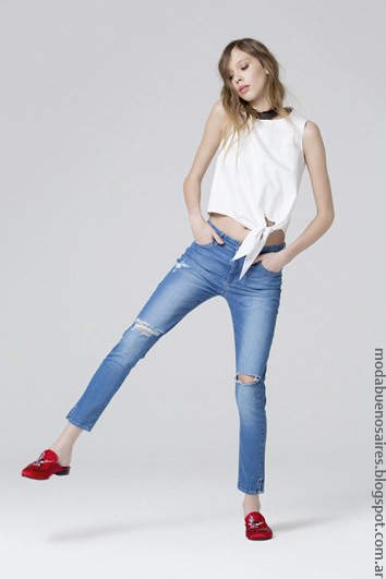 Jeans primavera verano 2017 ropa de moda verano 2017.