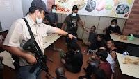 TNI di Riau Tangkap Polisi Bawa Sabu 1,5 Kg, Natizen : Yang Begini bakal viral ga ya ?