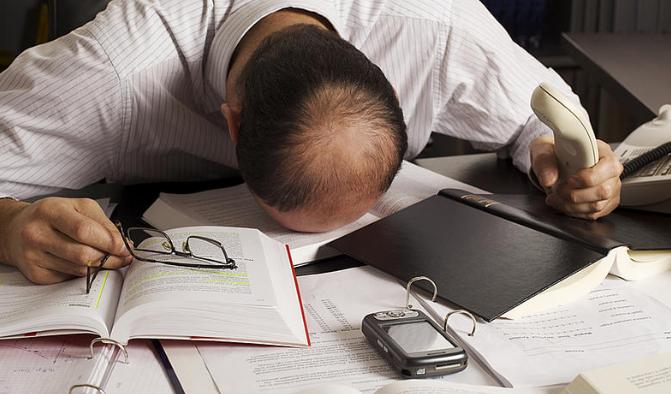 Pengertian Burnout merupakan sindrom kelelahan