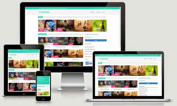 Vebtube video blogger template