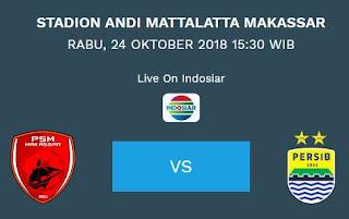 Susunan Pemain PSM Makassar vs Persib Bandung
