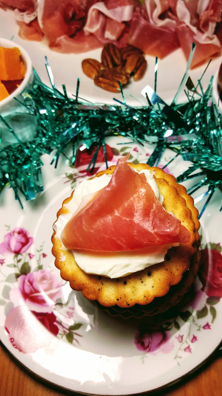 Ultimate Christmas Tree Prosciutto di Parma Cheeseboard