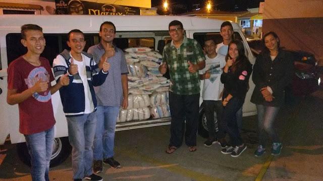 Vereador ajuda a arrecadar açúcar para Hospital e Instituto Bezerra de Menezes