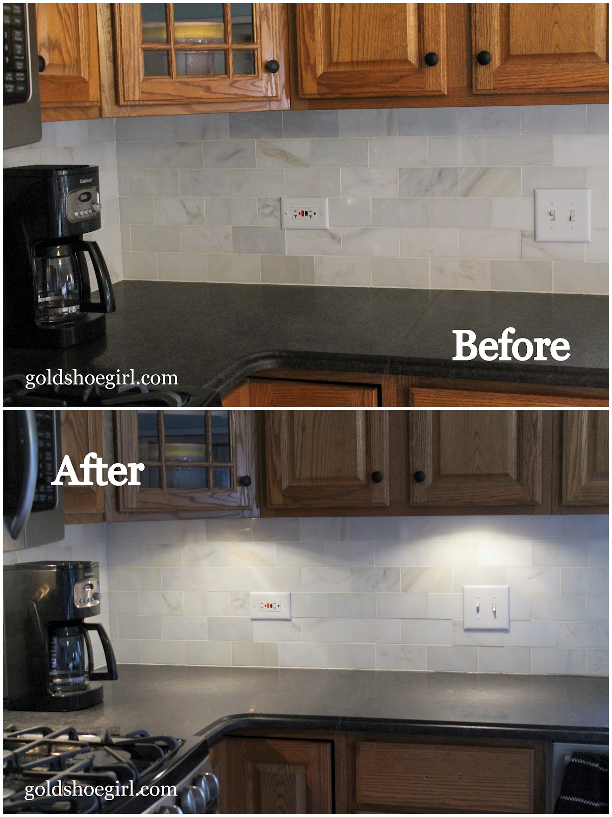 Gold Shoe Girl: How to Install Under Cabinet Accent Lights