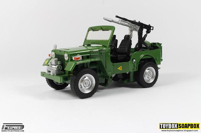 fanstoys masterpiece hound jeep