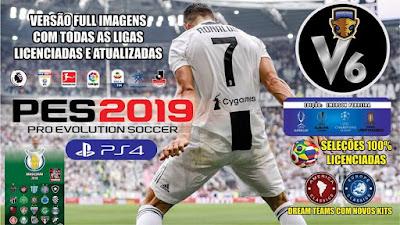 PES 2019 PS4 Option File v6 by Emerson Pereira Season 2018/2019