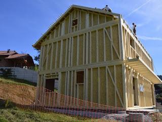 gradnja skeletne hiše v lastni režiji