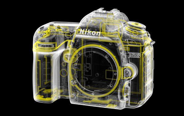 Уплотнители для пыле- и влагозащиты Nikon D7500