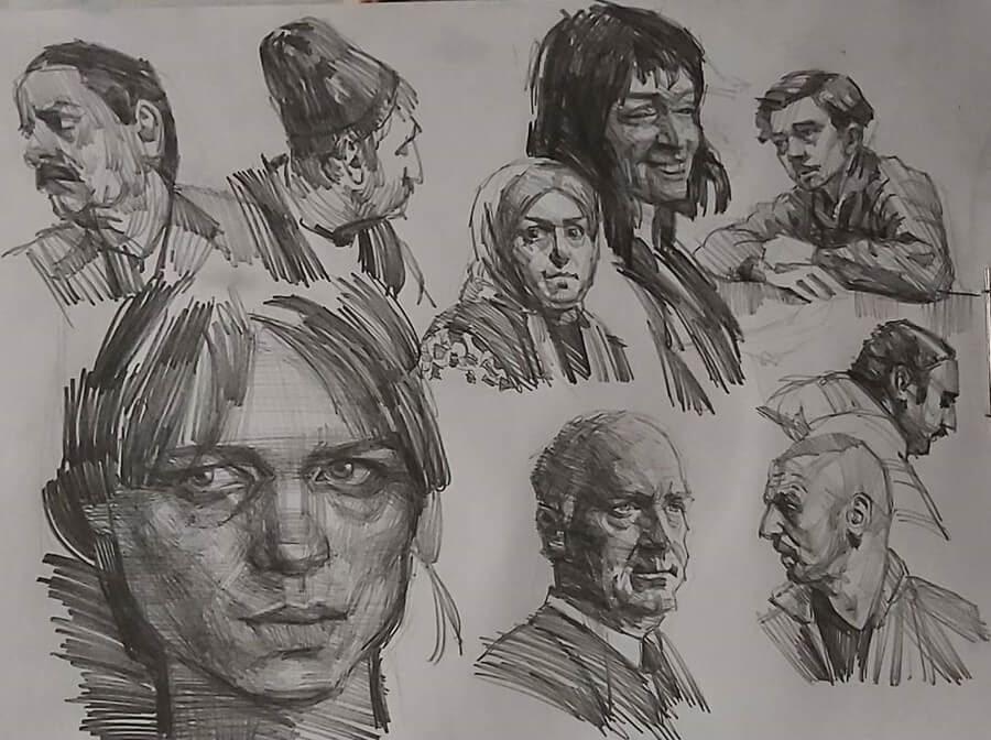 12-Pencil-Soroush-Jahdi-Sketch-Portraits-www-designstack-co