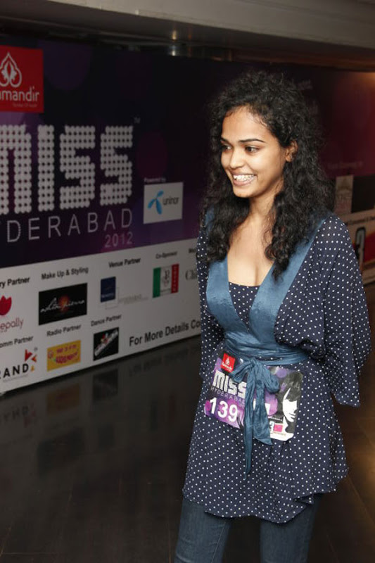 Miss Hyderabad 2012 Auditions Models Hot Photos