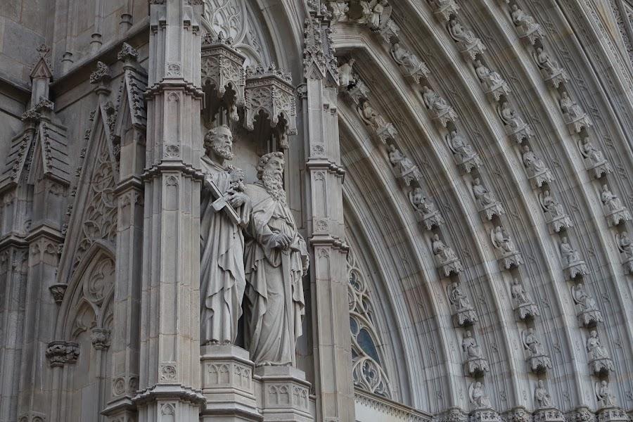 サンタ・クレウ・イ・サンタ・エウラリア大聖堂(La Catedral de la Santa Creu i Santa Eulàlia)=バルセロナ大聖堂