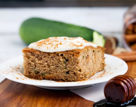 Zucchini Cake Brown Sugar Cream Cheese Frosting
