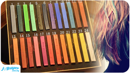 the hottest beauty product this year hair chalk is here jv er