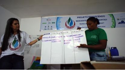Em Tacaratu/PE, encontro de formação da Rede Renascendo de Educação Ambiental mobiliza Cuidadoras da Vida