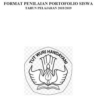 Format Penilaian Portofolio Siswa-http://www.librarypendidikan.com/