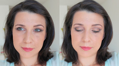 Coastal Scents Revealed neutral evening look