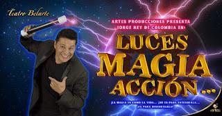 POS 3 LUCES… MAGIA… ¡ACCIÓN! | Teatro Belarte