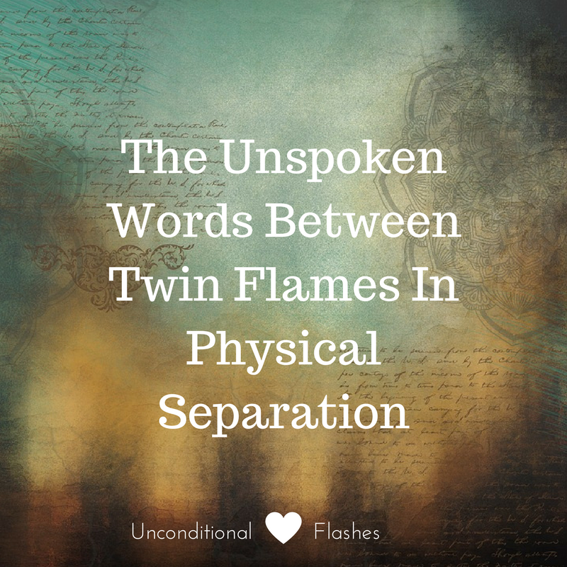 Unconditional Love Flashes: The Unspoken Words Between Twin