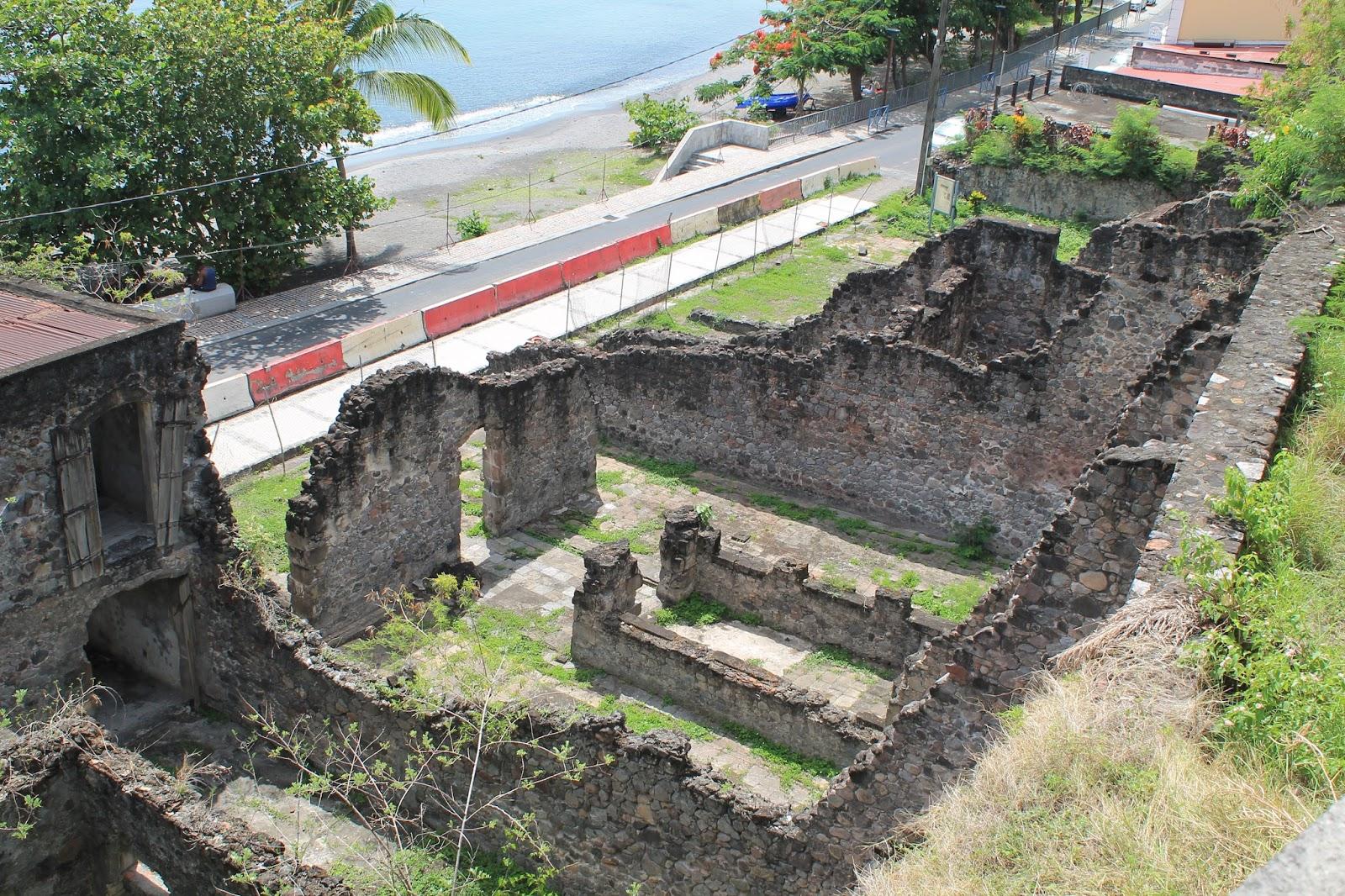 martinique caraibes vacances île dom tom visite saint-pierre ruine