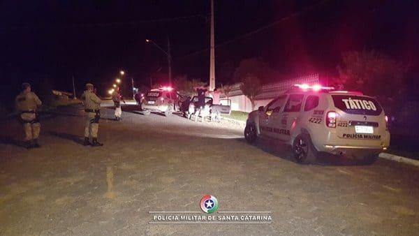 PM de Canoinhas presta apoio à Papanduva e Monte Castelo