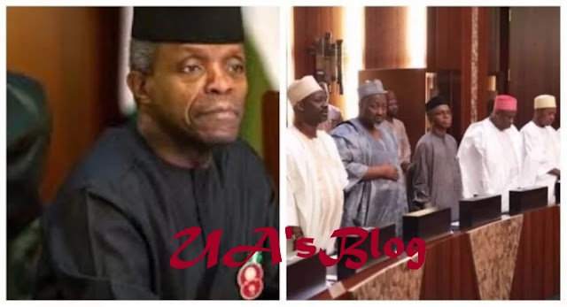 New Minimum Wage: Osinbajo, governors meet in Aso Villa over NLC's demand