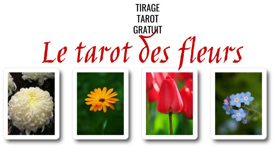 les cartes du tarot des fleurs