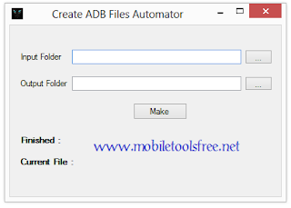 Download Samsung adb Enable File Maker Tool For FRP Reset