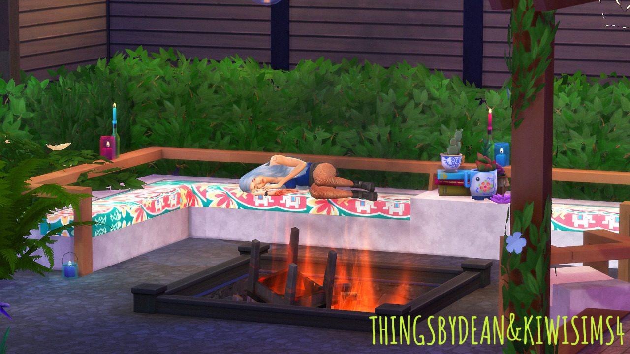 My Sims 4 Blog Alfresco Outdoor Living Set By Dean And KiwiSims4