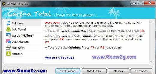 Tool] Garena Total v5 8 1 (Auto join, auto tunnel, hotkey dota)