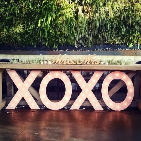 How to make your own giant Marquee Letters