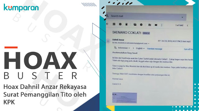 Dahnil Akan Laporkan Penyebar Hoaks yang Catut Emailnya Terkait Tito