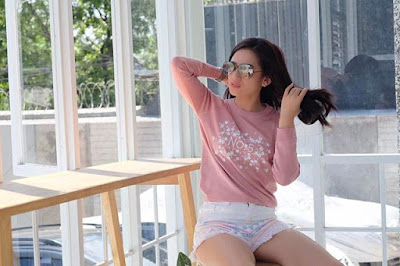 Bobotoh Cantik Citra Monica Model Seksi Ladies Viking Persib Bandung