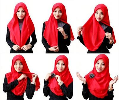 Tutorial Hijab Sample untuk Kuliah dan Ke Kantor
