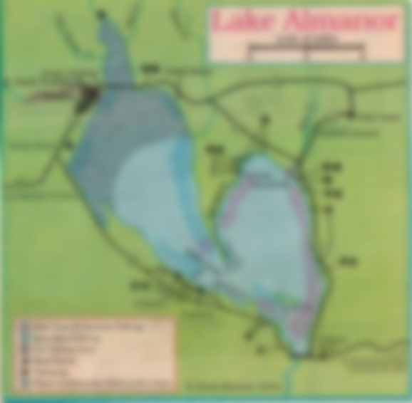 how to fish lake almanor, fishing map and reports california and oregon