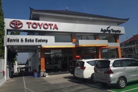 Nomor Telepon Dealer Toyota Agung Automall Denpasar