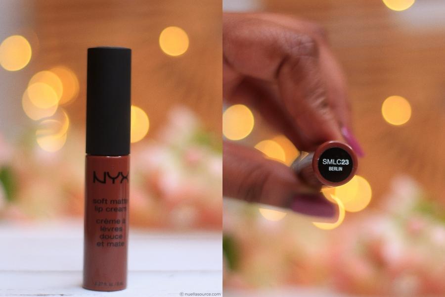 NYX soft matte lip cream berlin