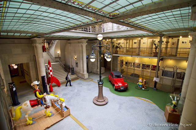 Museo del Cómic, planta baja, por El Guisante Verde Project