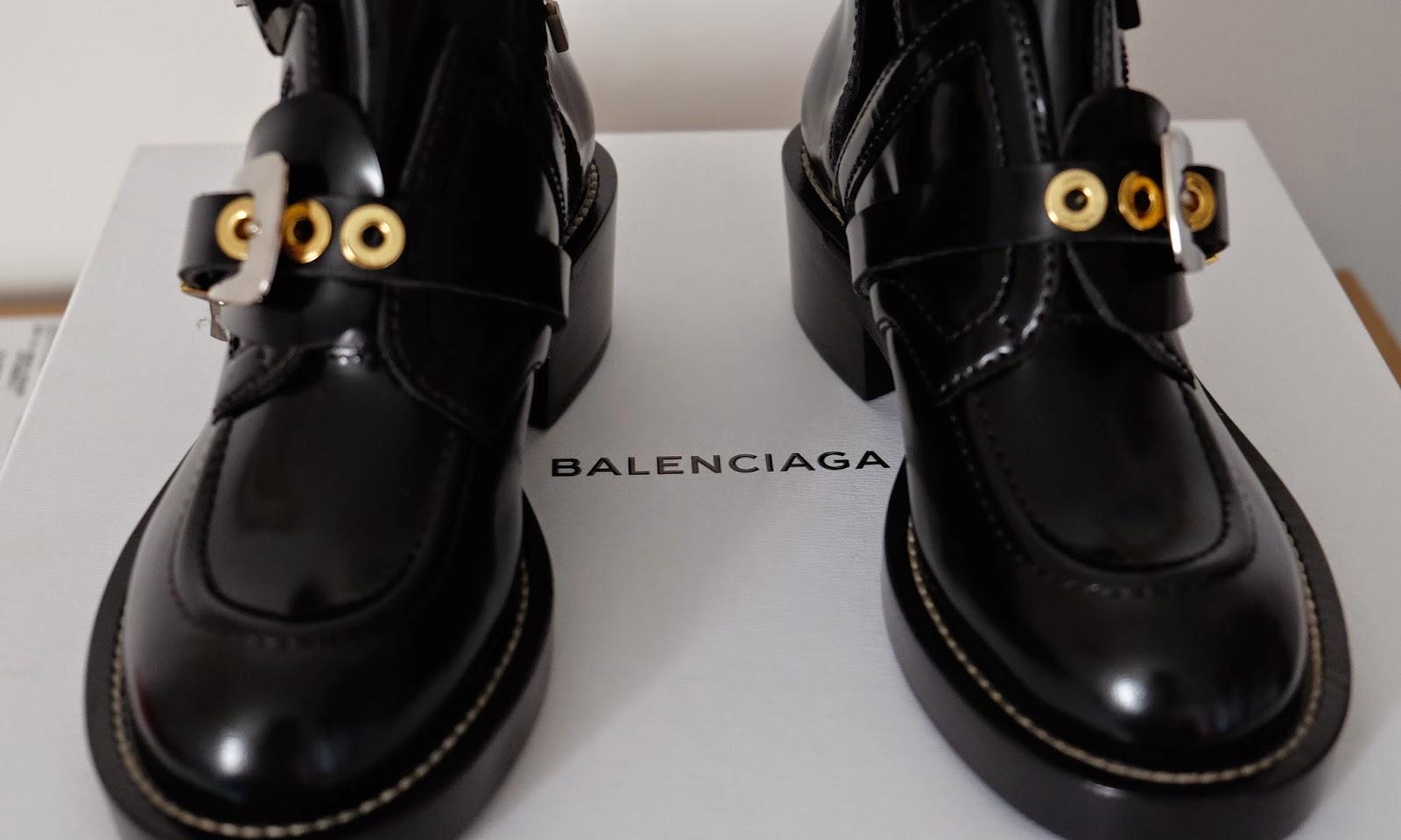 her favourite Balenciaga Ceinture boots