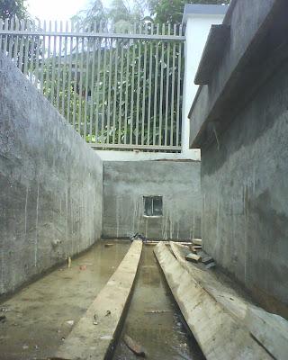 batununggal 21112: taman kolam minimalis