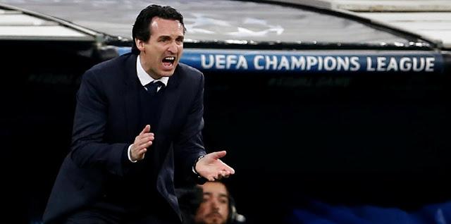 حقيقة إقالة مدرب باريس سان جيرمان بعد الخسارة من ريال مدريد في دوري الابطال