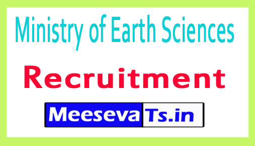 Ministry of Earth Sciences MOES Recruitment