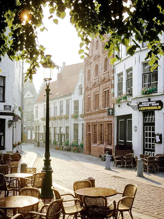 Gorgeous image of Bruges Belgium - found on Hello Lovely Studio