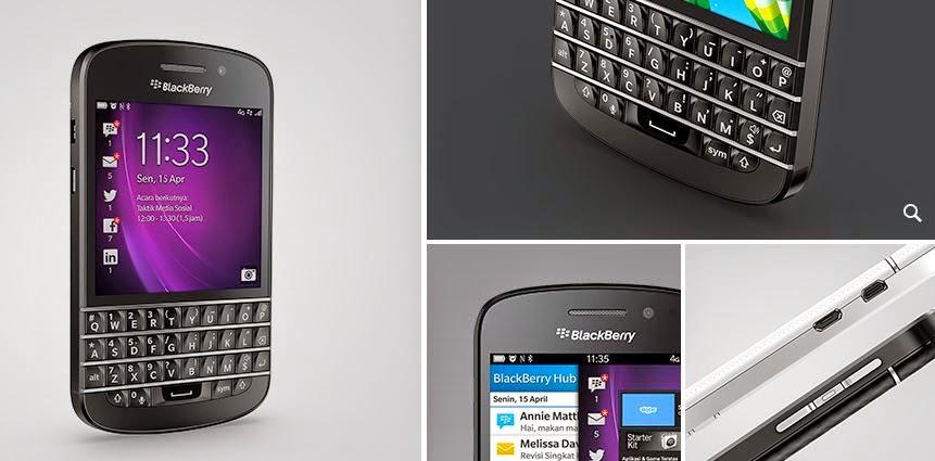 Fitur dan Spesifikasi Blackberry Q10