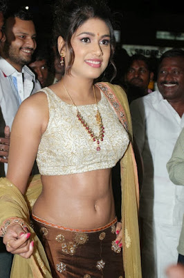 Sexy pictures of Manisha Yadev showing milky navel