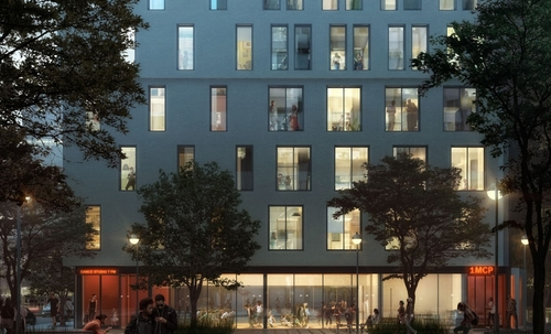 03-At-Night-My-Micro-NY-Micro-Modular-Apartments-nARCHITECTS-Architects-Building