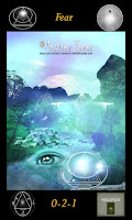 The Light Of Truth Oracle Card - Fear