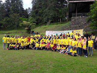OUTBOUND TEAM BUILDING DI PELANGI HOTEL SENTUL