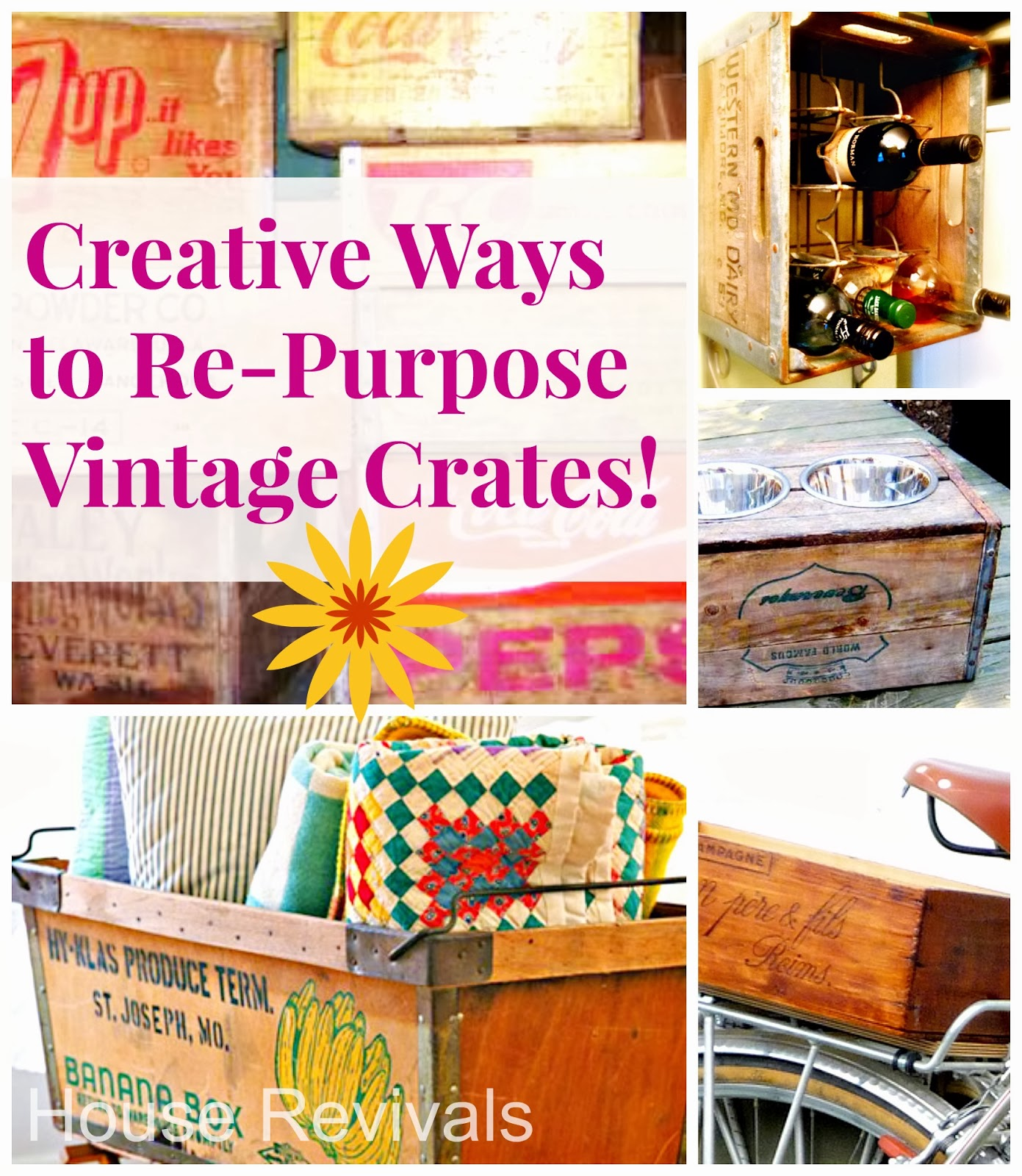 Here Is A Round Up Of Ideas For Re Purposing Vintage