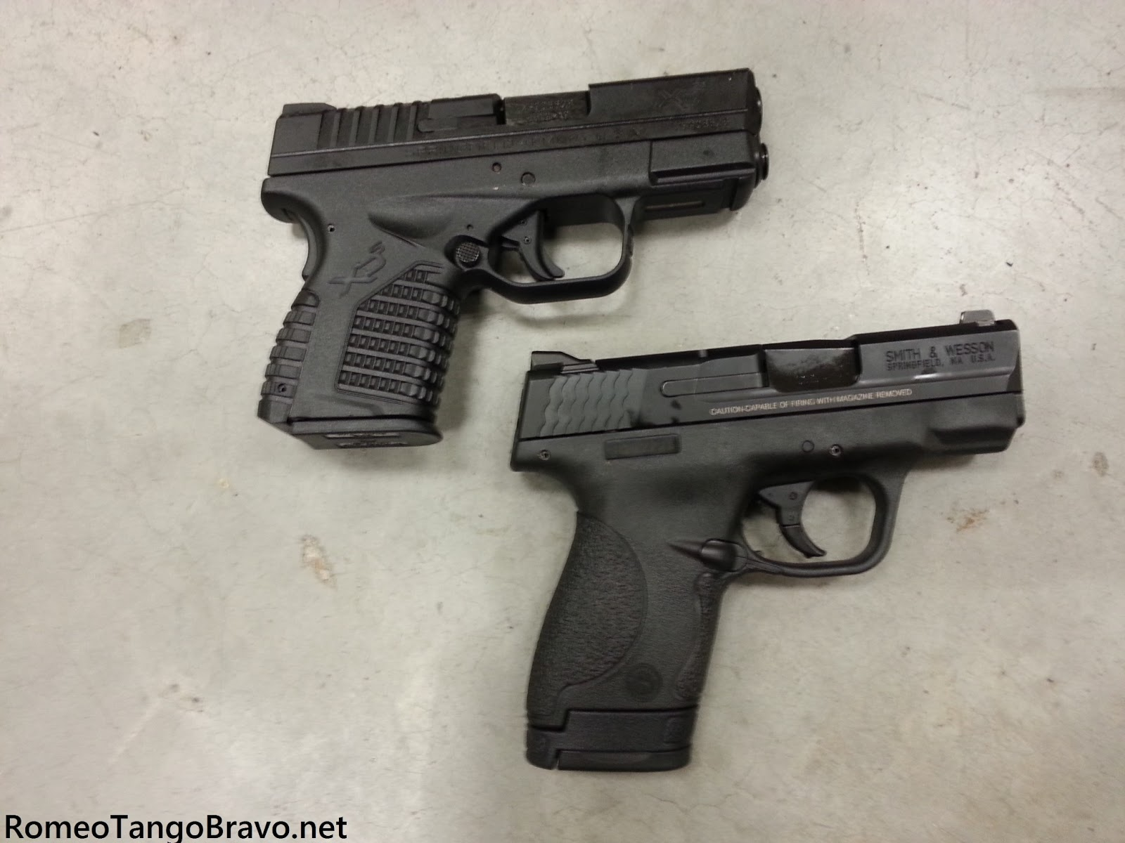 Xds Vs Shield Ro...M And P Shield Vs Xds