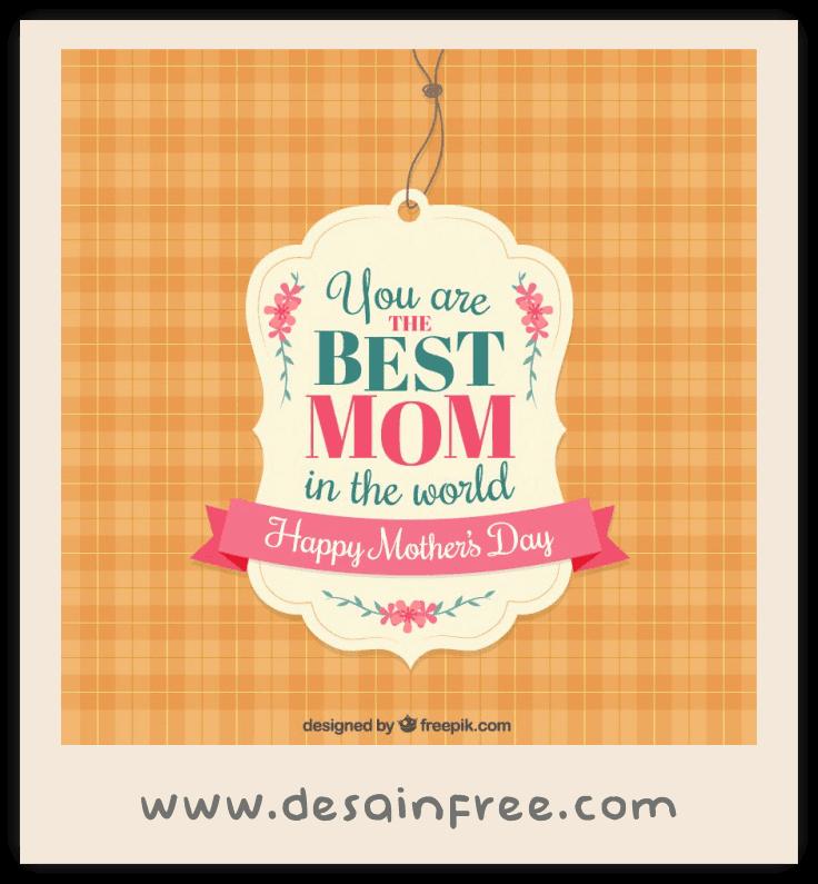 10 Template Kartu Ucapan dan Banner Hari Ibu (Mother's Day ...